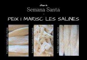 Bacalao Salado. Peix i Marisc Les Salines
